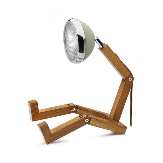 PIFFANY -  MR. WATTSON Original Tischlampe grün