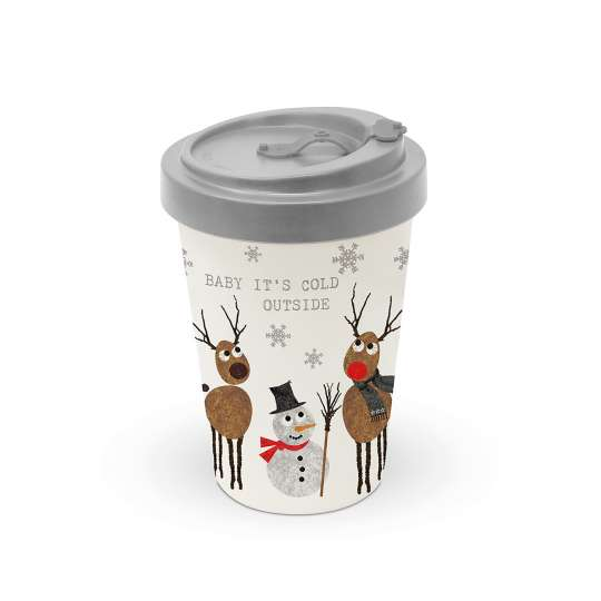 PPD - 604133-Cold Outside-Bamboo Travel Mug
