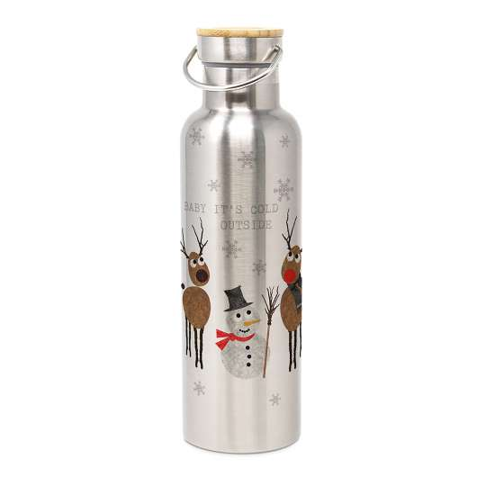 PPD - Cold Outside Stainless Steel Bottle-604135