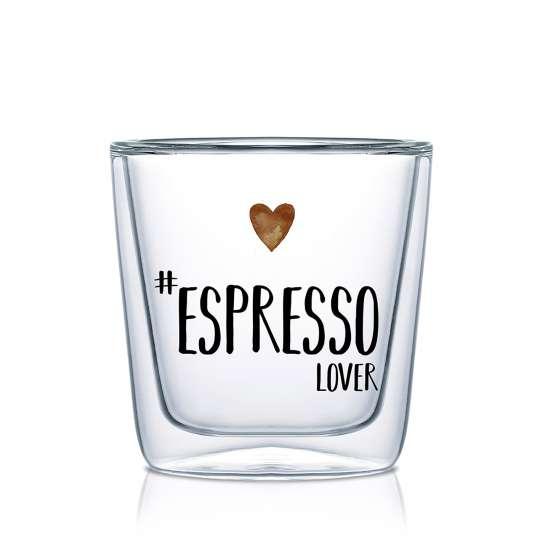 604254 · Espresso Lover Doublewall Espresso Glass, 0,08l