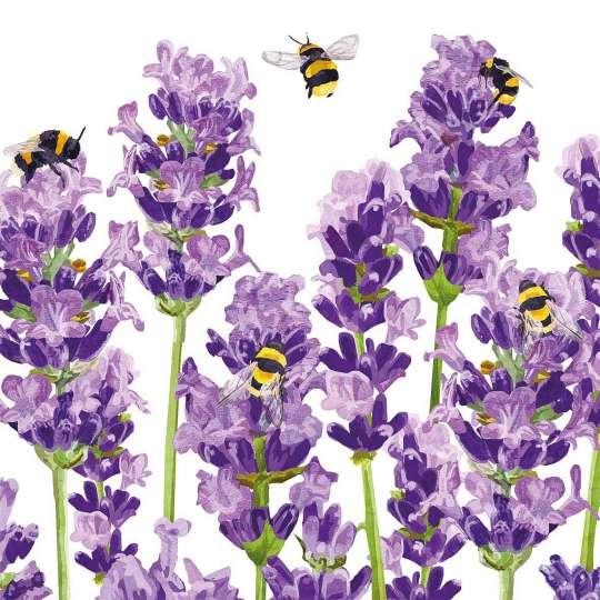 PPD 1333956·Bees&Lavender, Napkin