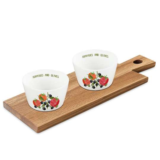 PPD 604359 Tomatoes & Olives Dip set nature