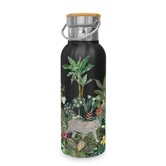 604414 Panthera Stainless Steel Flasche/Bottle 0,5l