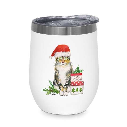 PPD - Thermo Mug 0,35l - Weihnachten Katze