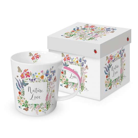 PPD 604351 Nature Romance Trend Mug Gift Box