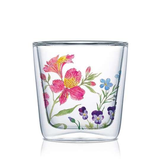 PPD 604353 Nature Romance Doublewall Espresso Glass