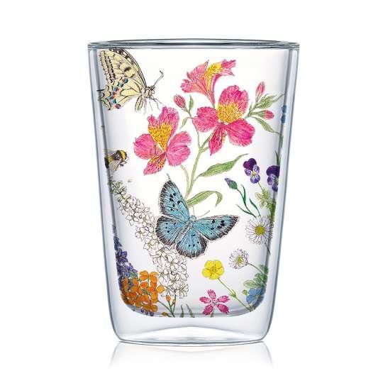 PPD 604355 Nature Romance Doublewall Latte Macchiato Glass