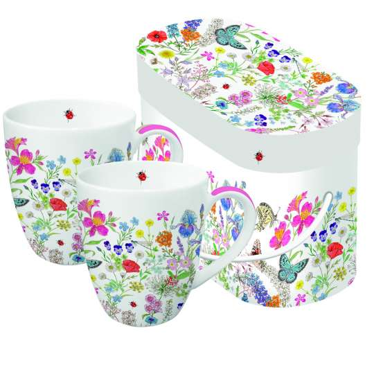 PPD 604415 Nature Romance Mug Set Gift Box