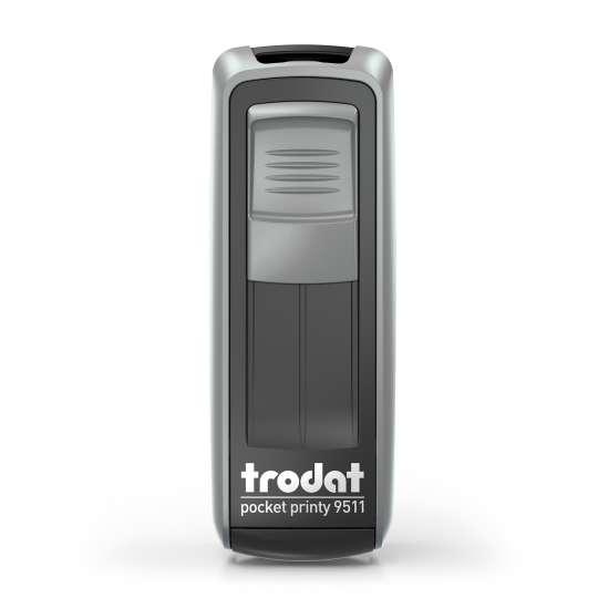 trodat - Kontaktdatenstempel PocketPrinty 9511 - Schwarz-silber - frei