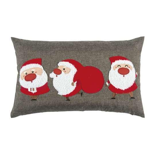 Santa Kissenhülle in grey von pad