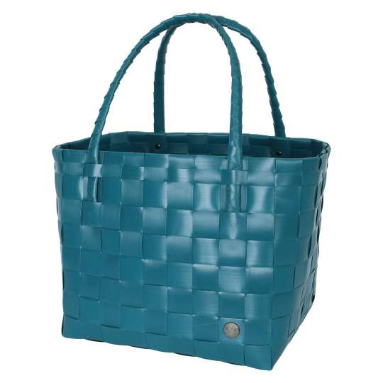 Handed by - PARIS Shopper - peacock green