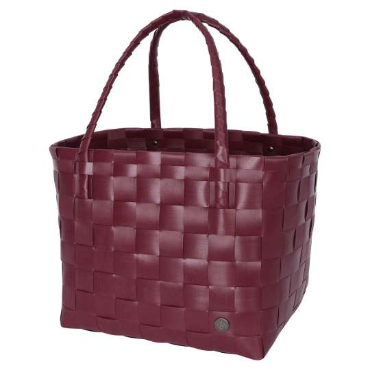 Handed by - PARIS Shopper - wine berry red