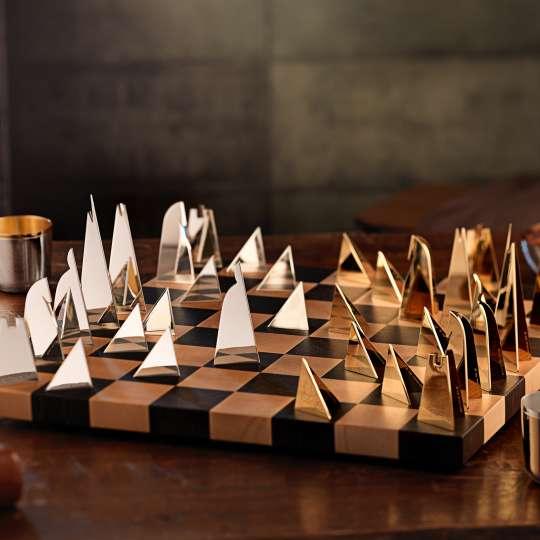 Robbe und Berking - Schachspiel und Alta Becher vergoldet