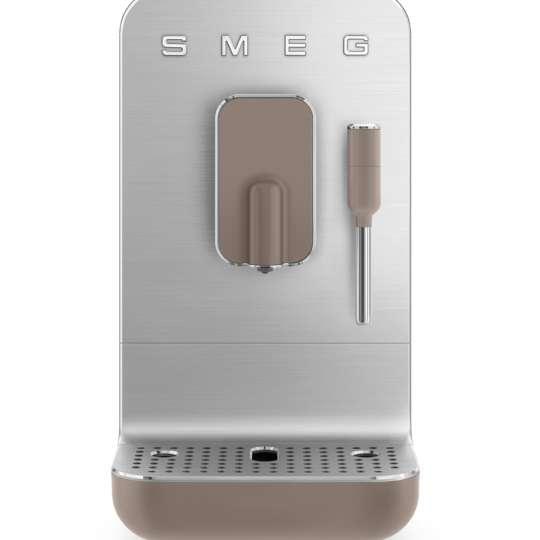 SMEG - Kaffeevollautomat BCC02TPMEU taupe - frei