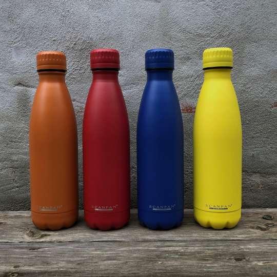 Scanpan - TO GO Isolierflaschen vier Farben