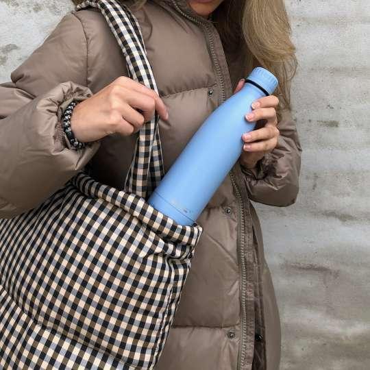 Scanpan - TO GO Isolierflasche hellblau - Tasche