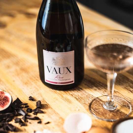 Sektmanufaktur VAUX - Rosé Vaux - Eitkett