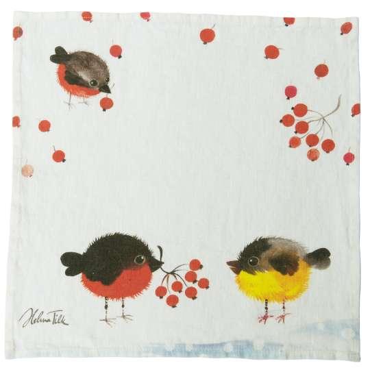 Schulz Home - Serviette Nordvogel, 40 x 40 cm