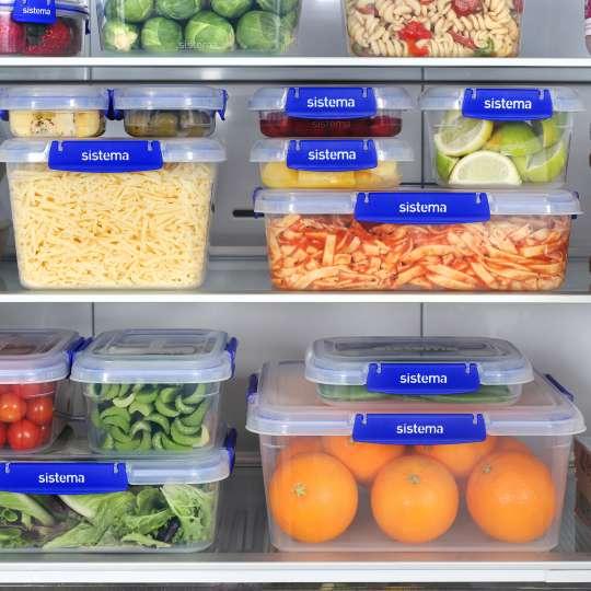 Mit sistema KLIP IT +™ - gut aufbewahrt im Kühlschrank