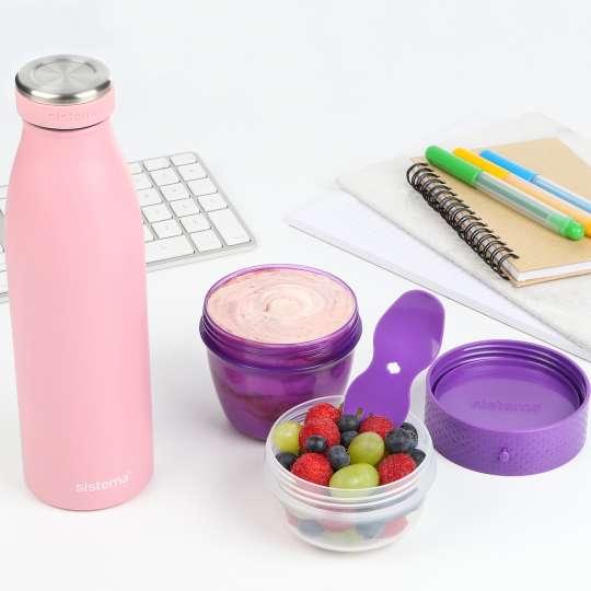 sistema Trinkflaschen und Schraubbecher im Büro