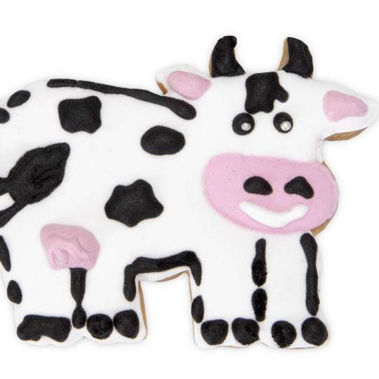 Staedter Praege-Ausstecher Kuh verziert