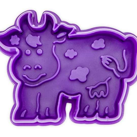 Staedter Praege-Ausstecher Kuh Vorderansicht