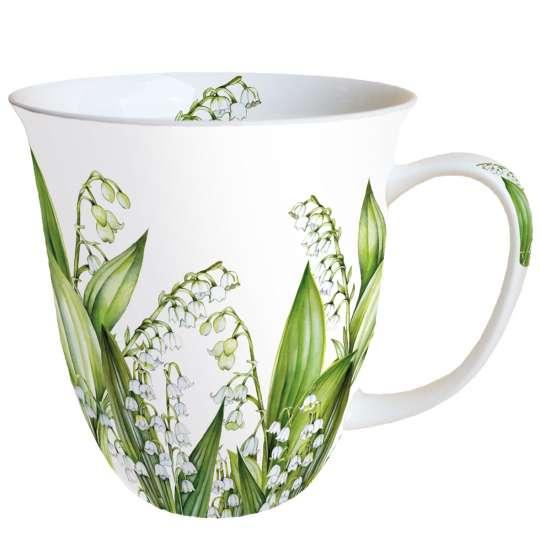 "Ambiente Design ""Sweet Lily"" Henkelbecher 0,4 l, 18414965"