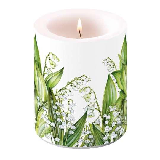 "Ambiente Design ""Sweet Lily"" Kerze groß, 19114965"