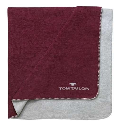 Tom Tailor Wolldecke, 2-farbig_229938-840