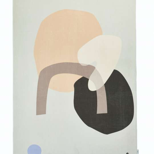 TOM TAILOR HOME – Colored Shapes brown-beige