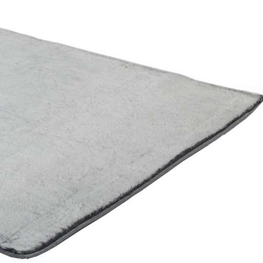 Tom Tailor – Teppich Furry ,mit hohem Flor, uni, silbersilver-01.jpg