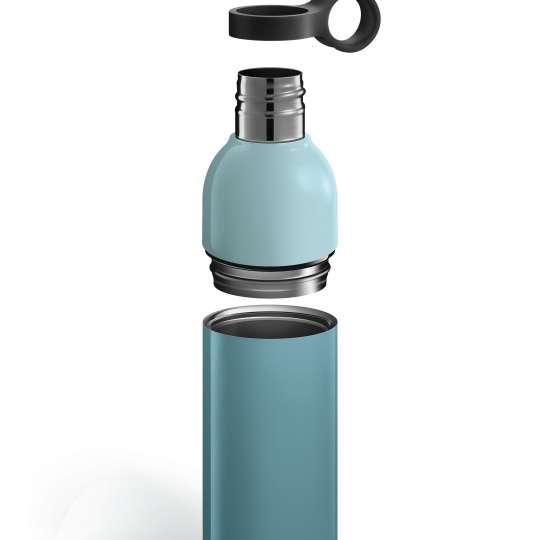 Tescoma - CONSTANT PASTEL - zerlegbare Thermosflasche blau - Einzelteile