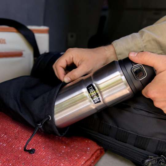 Thermos-Stainless-King-Isolier-Trinkflasche-stainless-steel