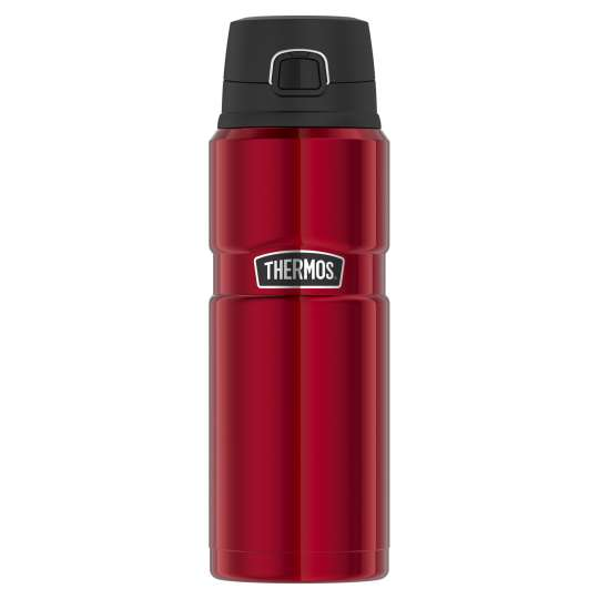 Thermos-Stainless-King-Isolier-Trinkflasche-stainless-cranberry-red