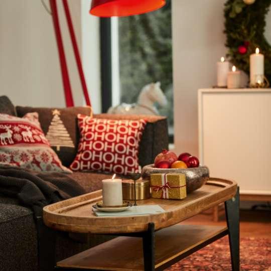 Tom Tailor- Weihnachten_Wohnzimmer Deko HoHoHo