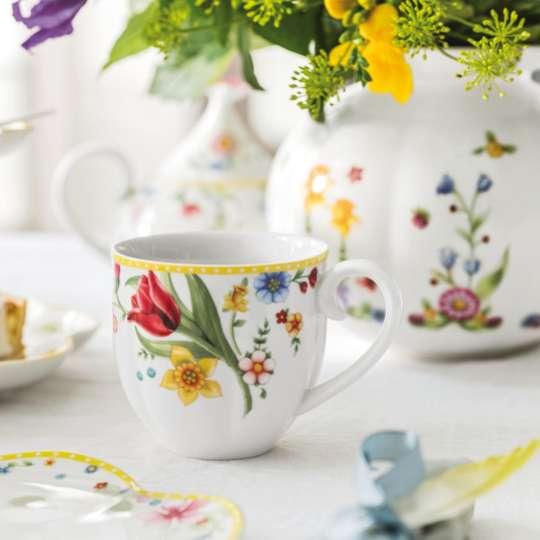 Villeroy & Boch Spring Awakening Tasse mit Blumenit Blumen
