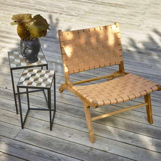 Villa Collection -  Lounge-Sessel  auf der Terrasse