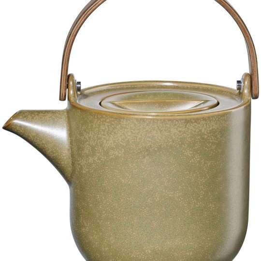 asa - Coppa Miso - Teekanne mit Holzgriff