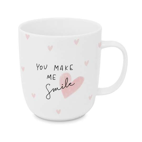 Design-at-home - Tasse 2.0 400ml - You make me smile