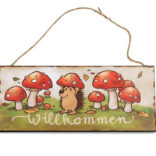 formano - Wandbild Willkommen, 30 x 13 cm