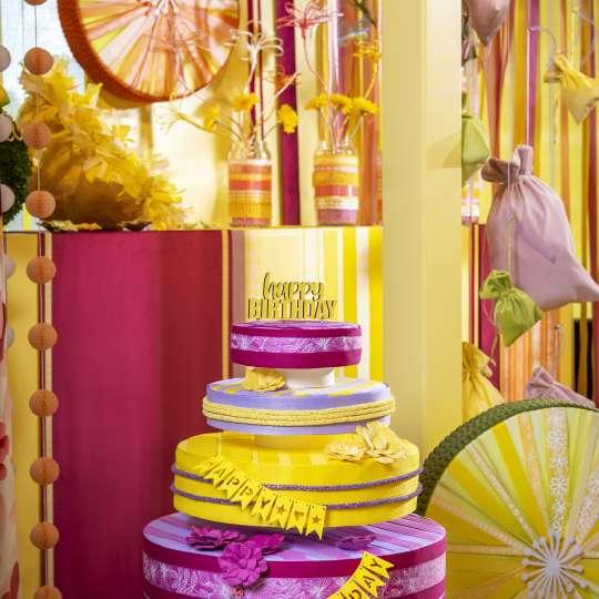 Halbach Seidenbänder Trend Sommer 2021 Colorful Sommerdeko