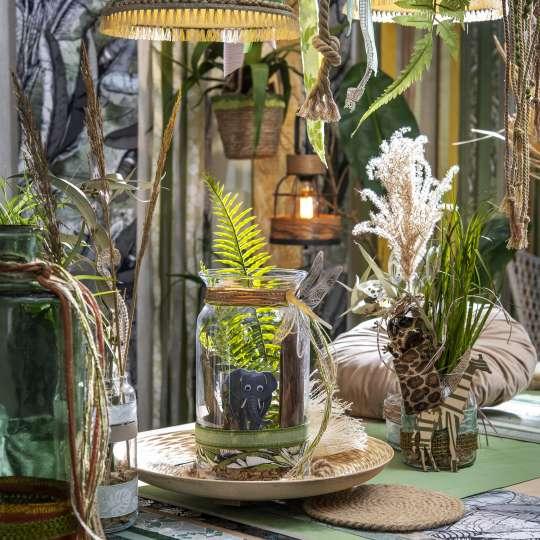Halbach Seidenbänder Trend Sommer 2021 Safari Vibes Dschungel