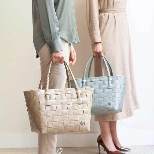 Handed by - PARIS Shopper - sahara sand & sage green