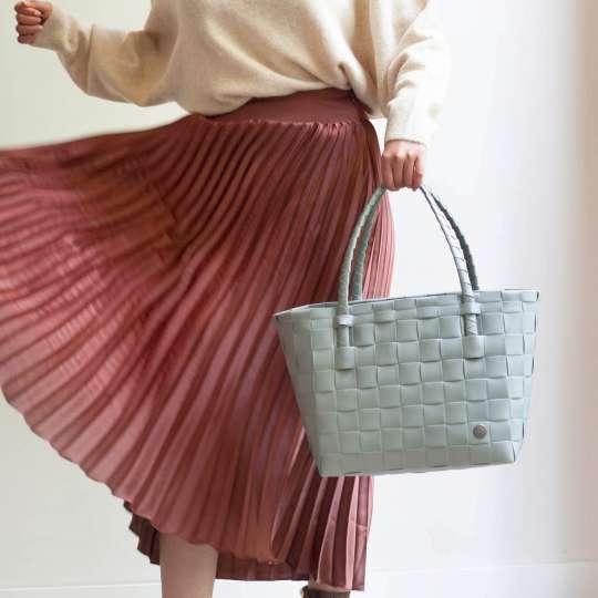 Handed by - PARIS Shopper - sage green - Kleid
