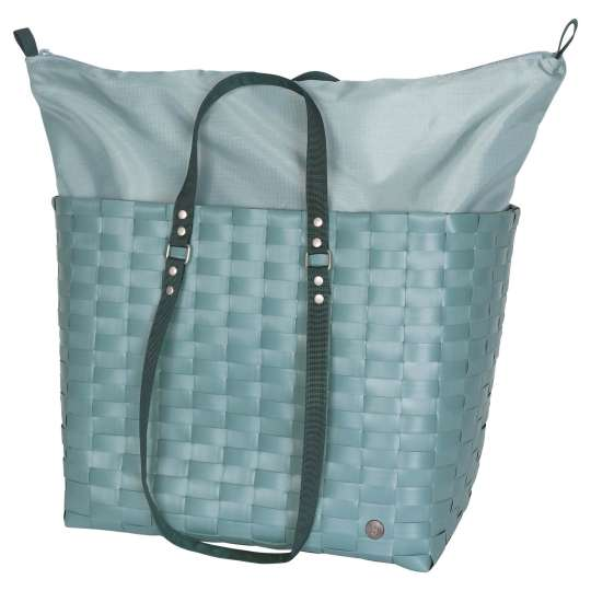 Handed By - GO! - Shopper teal blue