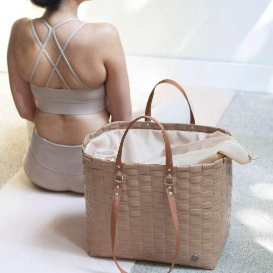 Handed By - GO! - Shopper cinnamon - Fitnessbag