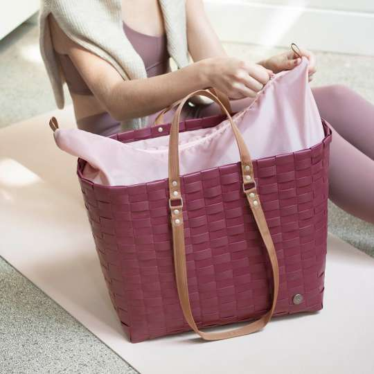 Handed By - GO! - Shopper wine berry red - Sporttasche