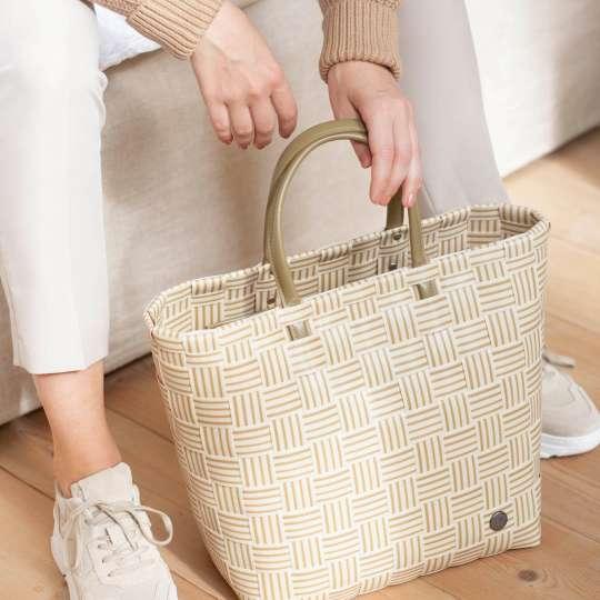 Handed By - Handbag JOY ecru white - griffbereit