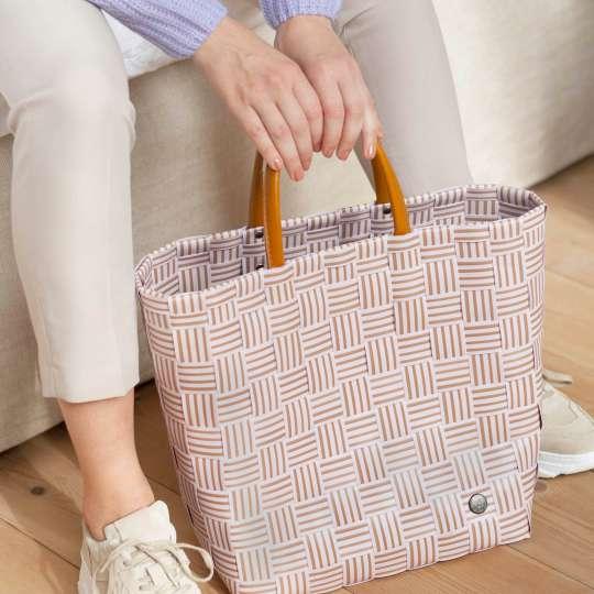 Handed By - Handbag JOY soft lilac - Handgriff
