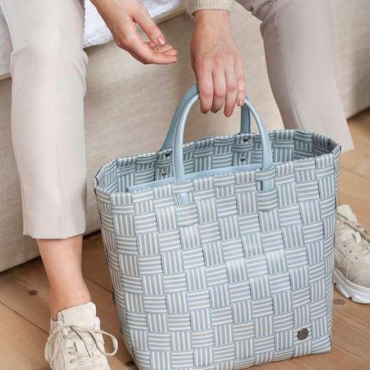 Handed By - Handbag JOY steel grey - griffbereit